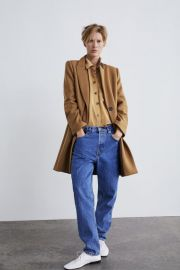 masculine coat at Zara