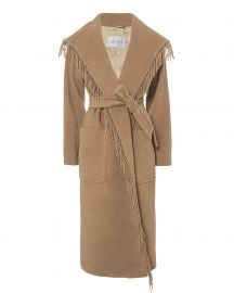 max mara pacos coat at Intermix