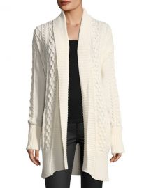 michael kors Cable-Knit Duster Cardigan at Last Call