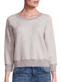 n Philanthropy - Gayla Distressed Sweatshirt at Saks Fifth Avenue