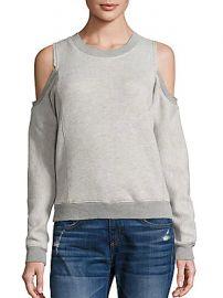 n Philanthropy - Maia Cold-Shoulder Sweatshirt at Saks Fifth Avenue