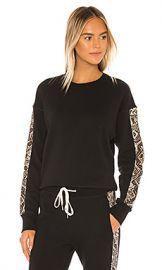 n philanthropy Azure Sweatshirt in Sand Python from Revolve com at Revolve