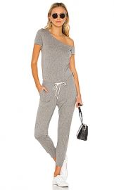 n philanthropy Britton Jumpsuit in Heather Grey from Revolve com at Revolve