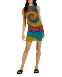 n philanthropy Majorca Ruched Tie-Dye Tank Dress Women - Bloomingdale s at Bloomingdales