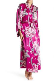 natori Aizome Print Robe at Nordstrom Rack