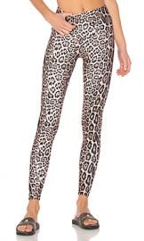 onzie High Rise Legging in Leopard from Revolve com at Revolve