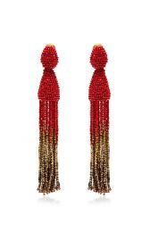 oscar de la renta earrings at Moda Operandi