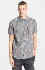 ourCaste and39Nickand39 Short Sleeve Print Shirt at Nordstrom
