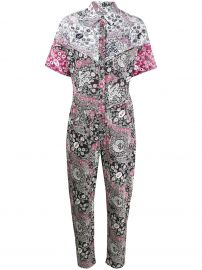 paisley-print jumpsuit at Farfetch