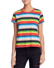 pam gela rainbow striped tee at Bloomingdales
