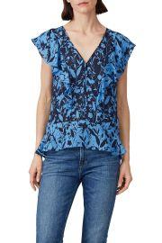 parker kata blouse at Rent The Runway
