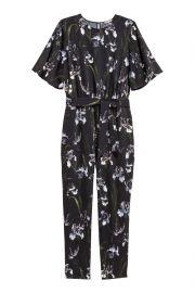 patterned jumpsuit at H&M
