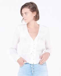 phoebe blouse at Veronica Beard