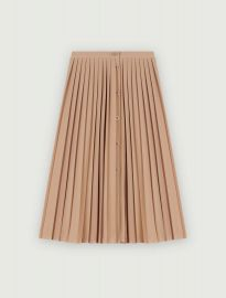 pleated skirt at Maje