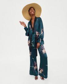 print jacket at Zara