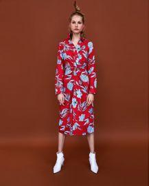 printed tunic at Zara