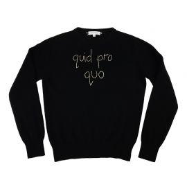 quid pro quo sweater by Lingua Franca at Lingua Franca