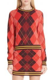 rag  amp  bone Dex Argyle Merino Wool Sweater   Nordstrom at Nordstrom