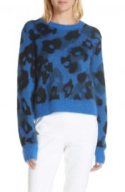 rag  amp  bone Leopard Spot Sweater at Nordstrom