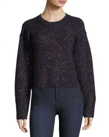rag and bone Jubilee Metallic Crewneck Sweater at Neiman Marcus