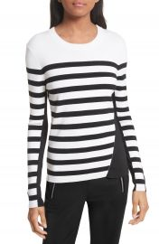 rag   bone Cecilee Stripe Merino Wool Blend Pullover at Nordstrom