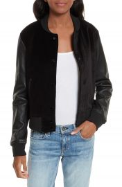 rag   bone JEAN Camden Varsity Jacket at Nordstrom