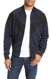 rag  amp  bone Colorblock Slim Fit Bomber Jacket at Nordstrom