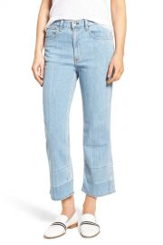 rag  amp  bone JEAN   Lou High Waist Crop Jeans  Tivoli    Nordstrom Rack at Nordstrom Rack