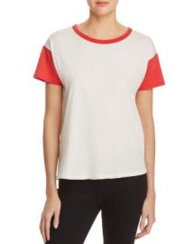 rag  amp  bone JEAN Cotton Ringer Tee at Bloomingdales