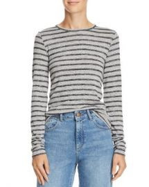 rag  amp  bone JEAN Directional Striped Tee Women - Bloomingdale s at Bloomingdales