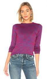 rag  amp  bone JEAN Slim Long Sleeve in Red  amp  Blue Multi from Revolve com at Revolve