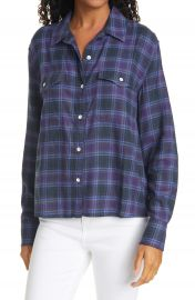 rag  amp  bone May Plaid Button-Up Shirt   Nordstrom at Nordstrom