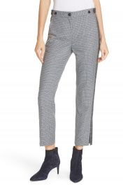 rag  amp  bone Meki Stripe Plaid Crop Pants   Nordstrom at Nordstrom