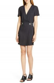 rag  amp  bone Tabitha Button Tab Minidress   Nordstrom at Nordstrom