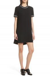 rag  amp  bone Thatch Crepe Shift Dress   Nordstrom at Nordstrom