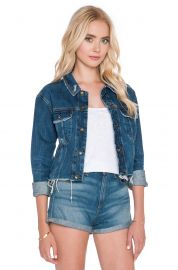 rag and bone Crop Boyfriend Jacket in La Paz at Revolve