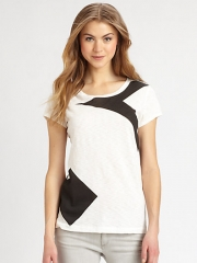 rag and boneJEAN - Large Arrow Contrast Tee at Saks Fifth Avenue