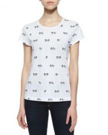 rag and boneJEAN Palm Tree Classic Tee Bright White at Neiman Marcus