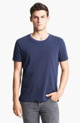 rag andamp bone Perfect Stripe Crewneck T-Shirt at Nordstrom