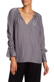 ramy brook SHEILA LONG SLEEVE BLOUSE at Nordstrom Rack