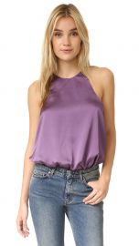 re named Cami Bodysuit in Plum at Shopbop