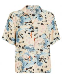 reDONE SHORT-SLEEVE HAWAIIAN SHIRT at Intermix