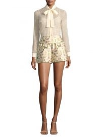 red valentino Insect Shorts at Saks Fifth Avenue