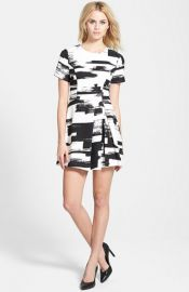 renamed Paneled Short Sleeve Dress at Nordstrom