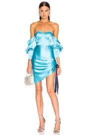 retrofete Cori Dress in Light Blue   FWRD at Forward