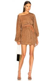 retrofete Grace Dress in Bronze   FWRD at Forward