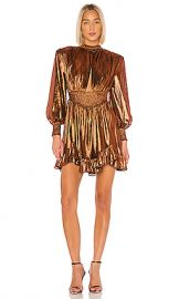retrofete Melody Dress in Rust from Revolve com at Revolve