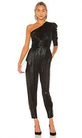 retrofete Thambi Jumpsuit in Black from Revolve com at Revolve