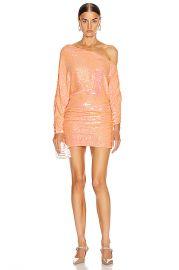 retrofete Yasmin Dress in Grapefruit   FWRD at Forward