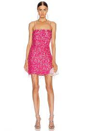 retrofete for FWRD Heather Dress in Fuchsia with Tassels   FWRD at Forward